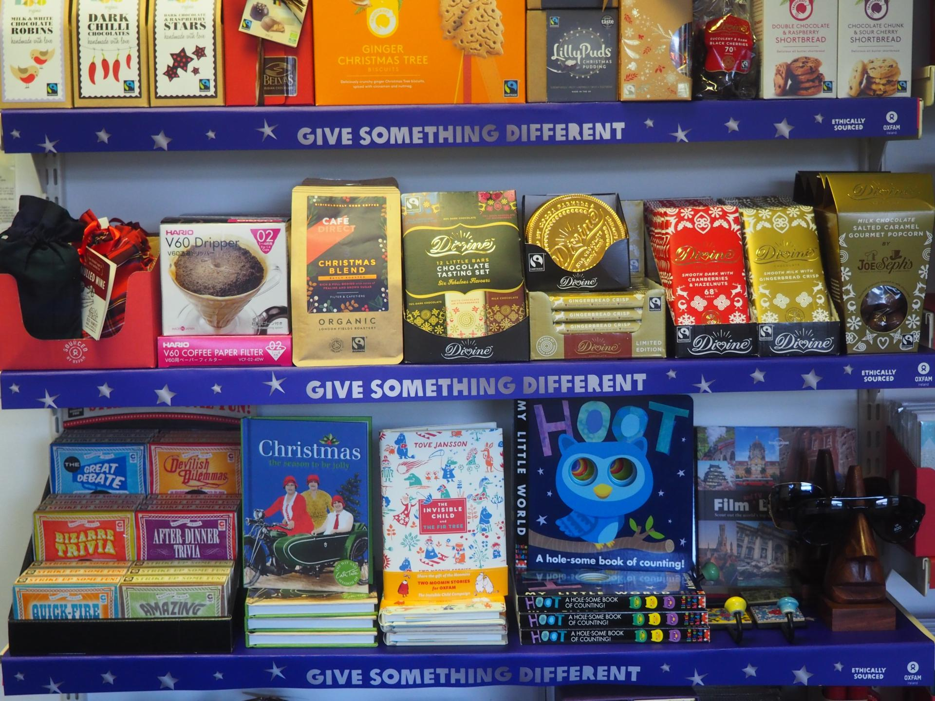 Oxfam to the rescue! Great gifts for