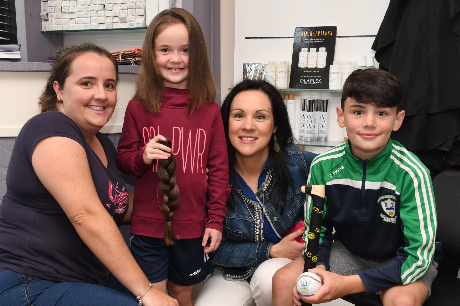 Kilkenny Schoolgirl Lauren Has Her Long Hair Cut Off For The Little Princess Trust Kilkenny People