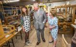 Photo Gallery: Royal Visit, Prince Charles and Duchess of Cornwall Camilla visit Grennan Craft Mill in Thomastown