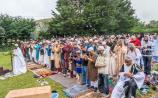 Hundreds gather at Kilkenny mosque to celebrate the end of Ramadan