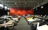 The cars on show