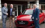 Farrell's Suzuki Railway Garage, Castlecomer honoured for long service