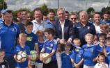 FAI chief John Delaney arrived in Kilkenny bearing gifts for Freebooters
