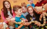Children with scoliosis enjoy fun day with National Reptile Zoo in Kilkenny
