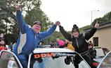 Pierce and Eilish are South East rally champions