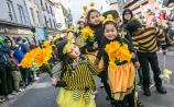 Bees on Parade: Crowds turn out in Kilkenny for St Patrick's Day