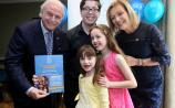 Ferrybank siblings help launch Carer of the Year awards