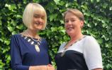 Kilkenny's Ella Dunphy IPAV President meets new SCSI President