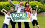 """Marty Morrissey is urging Kilkenny people to step it out for GOAL's """"Mile-A-Day"""" summer challenge"""