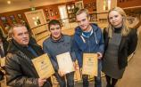 Gateway participants presented with certificates