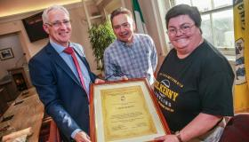 Gallery: L'Arche Kilkenny gets civic recognition to honour four decades of community work