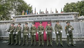 Picture Gallery - Kilkenny War Memorial opening