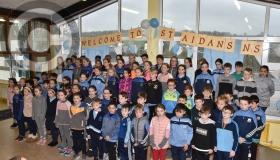 Picture Gallery:  Delight at St Aidan's NS in Kilmanagh as ribbon cut on new extension