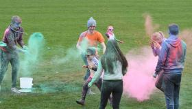 Clouds of Colour - at the Kilkenny Colour Run