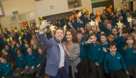 Kilkenny kids welcome Dancing with the Stars heroes