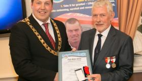 Gallery: Kilkenny's  water safety success honoured by Mayor at special reception in Tholsel