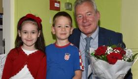 Gallery: Students greet Hungarian Ambassador on Inter-cultural Day at Kilkenny school