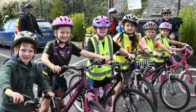 Cyclists join forces to help support Kilkenny cancer charity at Kells Kings
