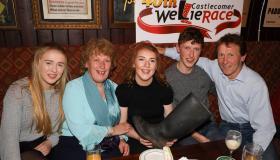 Hurling legend Eddie Brennan takes centre stage for Castlecomer Wellie Race 2020