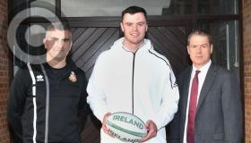 Gallery: Ireland and Leinster star James Ryan at Kilkenny College