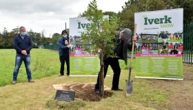 Oak tree planted to mark Iverk Show