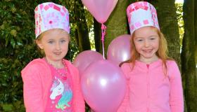 Gallery: Pink to make you think! St Aidan's NS Kilmanagh show support