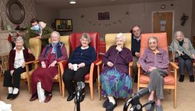 Pictures: Festival in a Van brings Yulefest cheer to Kilkenny nursing homes