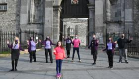WATCH: Credit Union staff from all over Ireland bust a move for the Jerusalema dance challenge