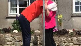 Kilkenny granny hugs her grandchildren for the first time in months - thanks to her clever  grandson!