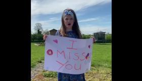Watch:  Children of Kilkenny school respond to video of teachers missing them