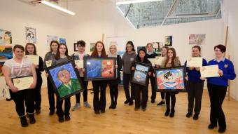 Successful Jigsaw Donegal art exhibition