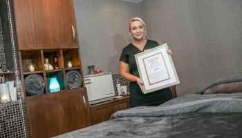 Oasis Spa in the Lyrath Estate Hotel wins award for signature treatment