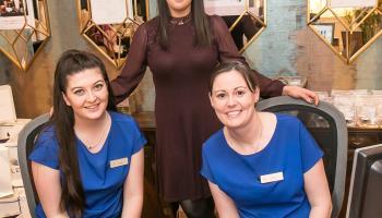 Picture Gallery: Kilkenny's Oasis Spa celebrate Tatler success