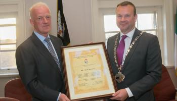 Civic reception for champion horse trainer Willie Mullins