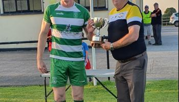 Drennan on the spot as Evergreen fend off Newpark in McCalmont Cup Final