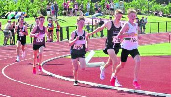 Athletics- County athletes deliver scorching .performances on the track