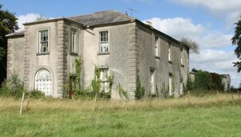 PROPERTY: Once opulent stately home on Kilkenny border now open to bids over €90k