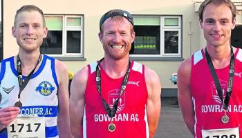 Athletics: Masters of the road - Sheehan and McArdle take county 10km crowns