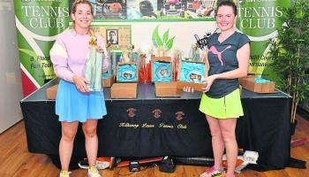 Smashing time had by all at Kilkenny Tennis open week