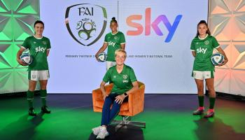 Fans urged to back national women's team as crowds return after 18 month break
