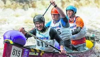Canoeing- Paddlers continue to make waves in Liffey Descent