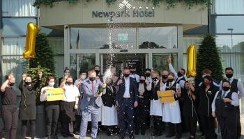 Newpark Hotel celebrate new top spot in Tripadvisor traveller rankings for Kilkenny