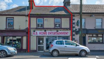 Main street property in Kilkenny town has guide price of just €50k!