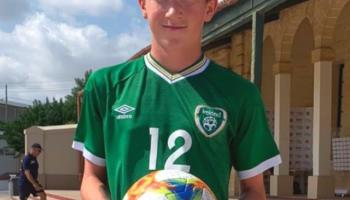 Kilkenny's Brian Moore nets a hat-trick in Republic of Ireland's Under 16 victory over Malta
