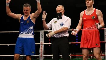 Darren O'Neill rolls back the years to claim another Irish Boxing title