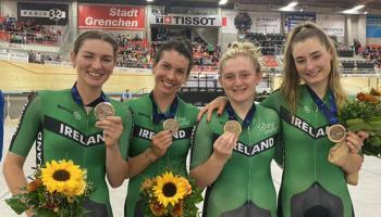 Kilkenny's Mia Griffin claims bronze medal with Ireland at European Track Cycling Championship