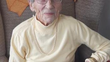 Happy 100th birthday to avid Kilkenny People reader, Peg