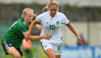 Ellen Molloy on the scoresheet as the Republic of Ireland Under 19 side gain victory over Northern Ireland