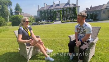 WATCH: Inspirational Brendan Lawlor wants more to be done to help disability golfers