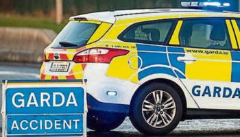 Emergency services at the scene of collision on Kilkenny border